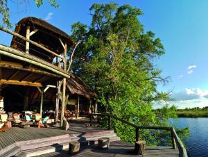 Lianshulu Lodge, Chaty v prírode  Luzibalule - big - 6