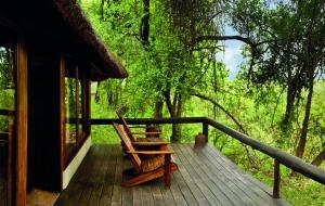 Lianshulu Lodge, Chaty v prírode  Luzibalule - big - 13