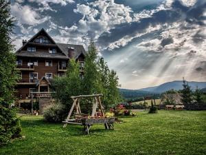 Hotel Hotel Carpatia Bieszczadzki Gościniec Wetlina Polsko