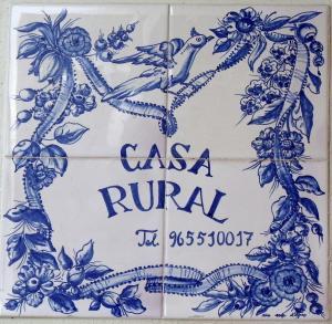 Casa Rural Montcabrer, Vidiecke domy  Agres - big - 25