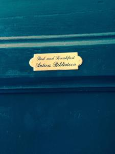 B&B Antica Biblioteca