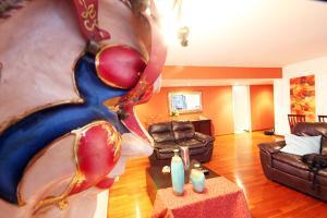 Luxury Condo Close To Larcomar, Appartamenti  Lima - big - 9