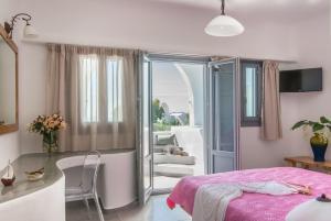 Aspronisi Luxury Villa with Caldera View, Villen  Megalochori - big - 35