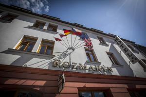 3 hviezdičkový hotel Rozmaryn Hotel Rakovník Česko