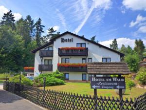 3 hvězdičkový hotel Hotel Am Wald Marktredwitz Německo
