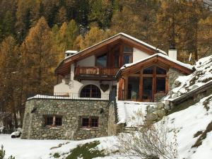 Chalet Chesarina, Alpesi faházak  La Punt-Chamues-ch - big - 1