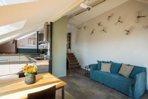 Apartment Murtensee und Alpen, Apartments  Bellerive - big - 3