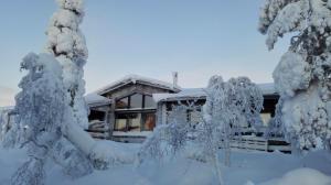 Villas Karhunpesä - Saariselkä
