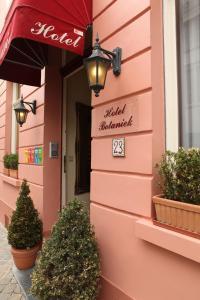 emblème de l'établissement Hotel Botaniek