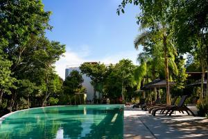 Deluxe Apartment Riviera Maya Tao Residential (Inside Bahía Principe), Appartamenti  Akumal - big - 73