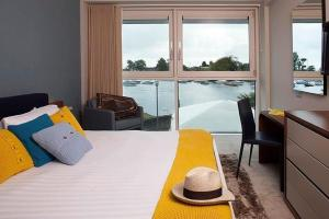 Luxury Double or Twin Room with River View Captain's Club Hotel & Spa
