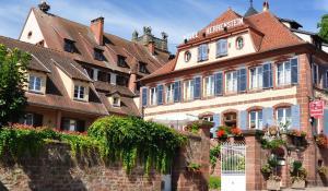 Hôtel Du Herrenstein, Hotel  Neuwiller-lès-Saverne - big - 44