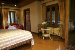 Deluxe Double Room with Shower Kanlaya's Eyrie, Luxury Homestay
