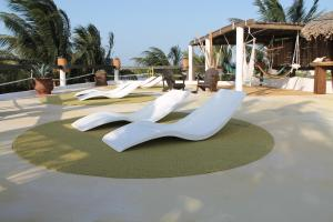 Beachfront Hotel La Palapa - Adults Only, Hotely  Ostrov Holbox - big - 38