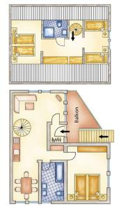 Apartments Deimann, Apartmány  Schmallenberg - big - 4