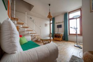 Lovely Duplex Flat, Apartmanok  Budapest - big - 62