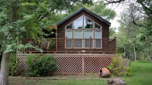 Peach Cabin, Turistaházak  Fredericksburg - big - 1