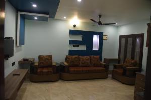 Subra Residency, Апарт-отели  Кумбаконам - big - 34