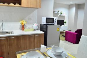 Pansook The Urban Condo, Apartmanok  Csiangmaj - big - 28