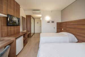 Hotel Laghetto Viverone Bento, Hotely  Bento Gonçalves - big - 4