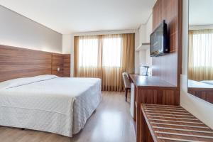 Hotel Laghetto Viverone Bento, Hotely  Bento Gonçalves - big - 27