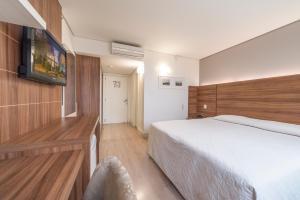 Hotel Laghetto Viverone Bento, Hotely  Bento Gonçalves - big - 31