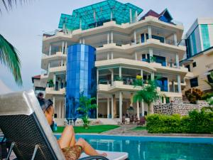 Best Outlook Hotel, Отели  Бужумбура - big - 67