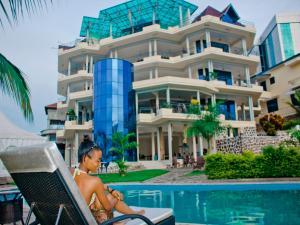 Best Outlook Hotel, Отели  Бужумбура - big - 21