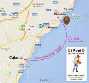 Pupi Catania Etna B&B, Bed & Breakfast  Aci Castello - big - 57