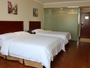 Hostels und Jugendherbergen - GreenTree Inn JiangSu YanCheng FuNing FuCheng Street BeiMen Street Express Hotel