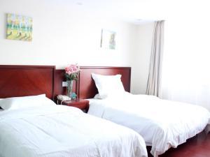 Hostels und Jugendherbergen - GreenTree Inn Jiangsu Wuxi Jiangyin Lingang New City Shengang Express Hotel