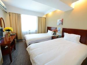 Hostels und Jugendherbergen - GreenTree Inn Shandong Heze Cao County Qinghe Road Business Hotel