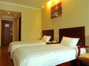 Hostels und Jugendherbergen - GreenTree Inn ShaanXi HanZhong Railway Station BeiYiHuan Road Express Hotel
