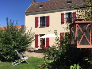 Location gîte, chambres d'hotes Gite Les Volets Rouges dans le département Val d'Oise 95