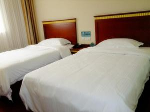 Hostels und Jugendherbergen - GreenTree Inn Anhui Fuyang Taihe South Xiyang Road Business Hotel