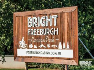 Bright Freeburgh Caravan Park, Комплексы для отдыха с коттеджами/бунгало  Брайт - big - 55