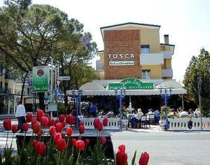 emblème de l'établissement Hotel Garni Tosca