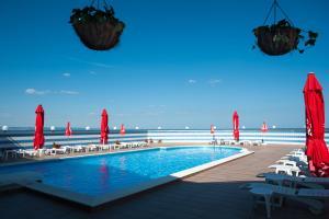 Hotel Lilia, Отели  Золотые Пески - big - 42