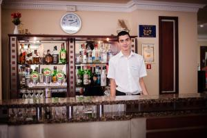 Hotel Lilia, Отели  Золотые Пески - big - 72