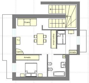 Appartamento con Vista Montagna