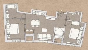 7 Tales Suites, Residence  Praga - big - 10