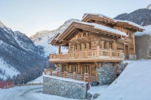 Chalet l'Eveil, Alpesi faházak  Grimentz - big - 1