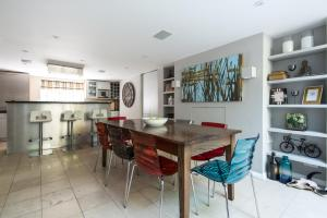 onefinestay - South Kensington private homes III, Апартаменты  Лондон - big - 66
