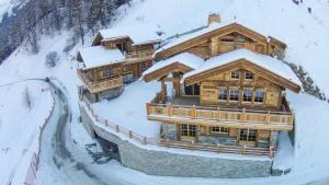 Chalet l'Eveil, Alpesi faházak  Grimentz - big - 23