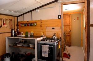 Refugio de montaña Mundo Perdido - Accommodation - Los Penitentes
