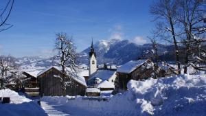 Ferienhof Schweizer, Vidéki vendégházak  Schwarzenberg im Bregenzerwald - big - 22