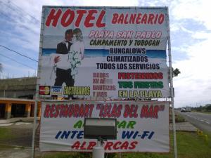 Hotel y Balneario Playa San Pablo, Отели  Монте-Гордо - big - 117