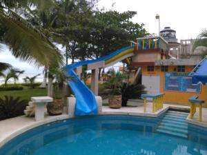 Hotel y Balneario Playa San Pablo, Отели  Монте-Гордо - big - 120