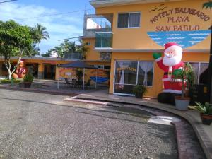 Hotel y Balneario Playa San Pablo, Отели  Монте-Гордо - big - 121