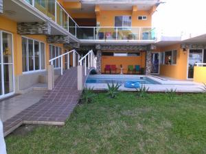 Hotel y Balneario Playa San Pablo, Отели  Монте-Гордо - big - 138